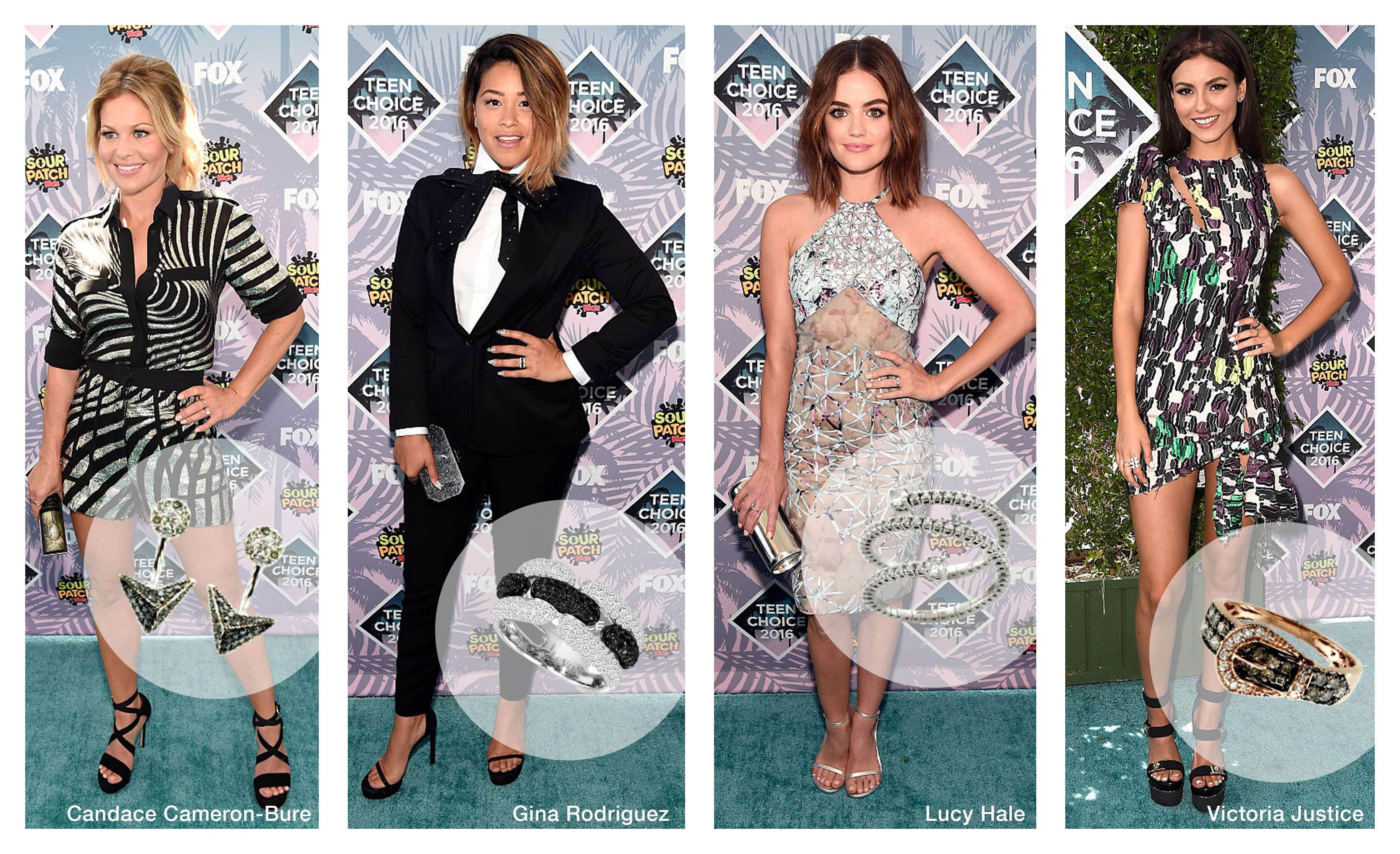 Le Vian® Jewelry Spotted at Teen Choice Awards 2016