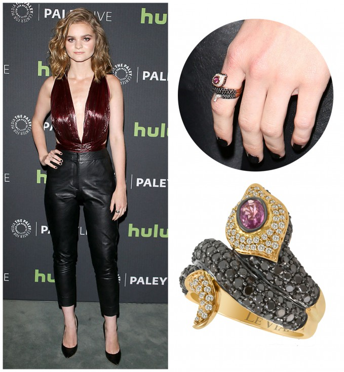 Kerris Dorsey Wears Le Vian® Snake Ring to Beverly Hills Event