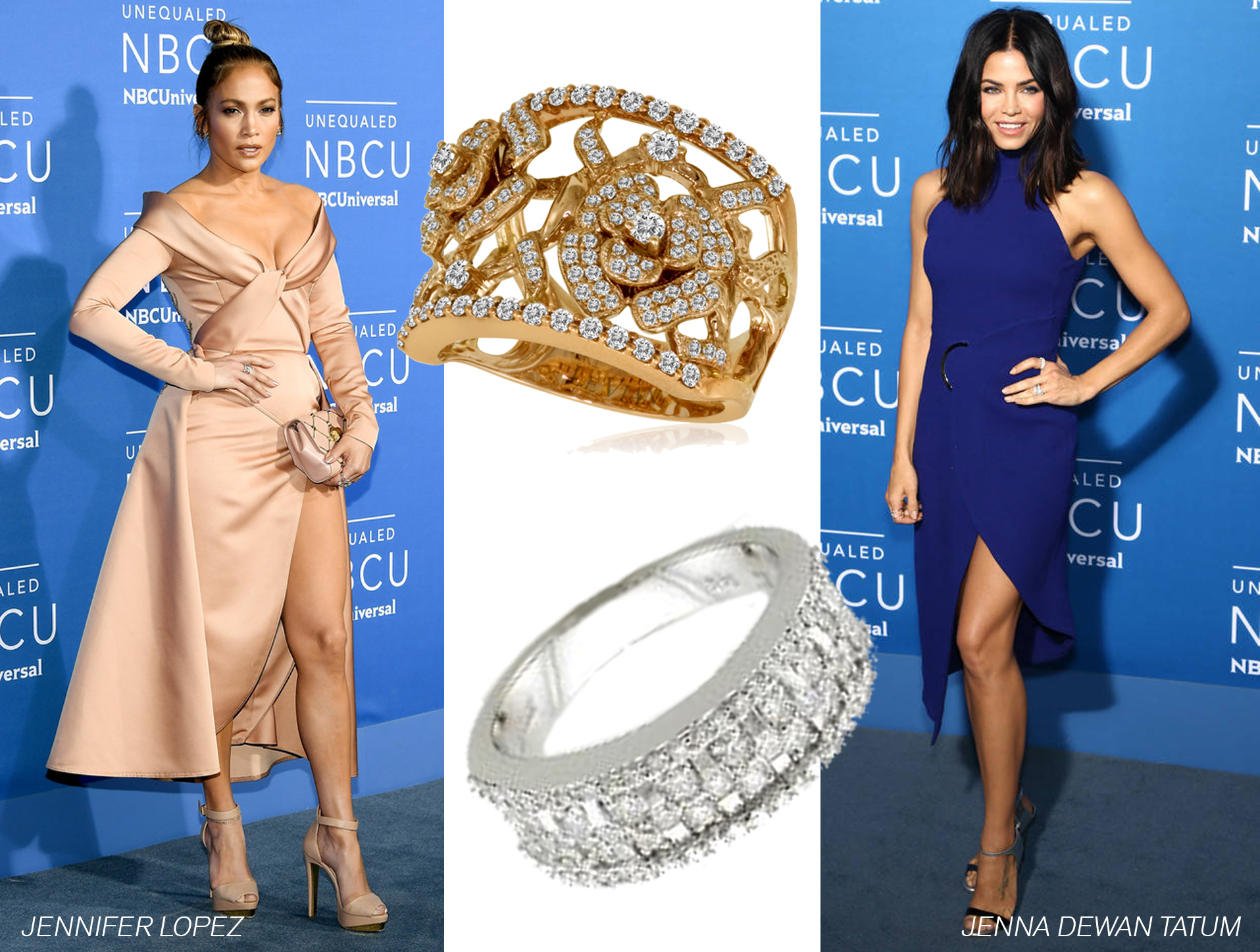Le Vian® Rings Spotted at 2017 NBC Upfront Event in New York City
