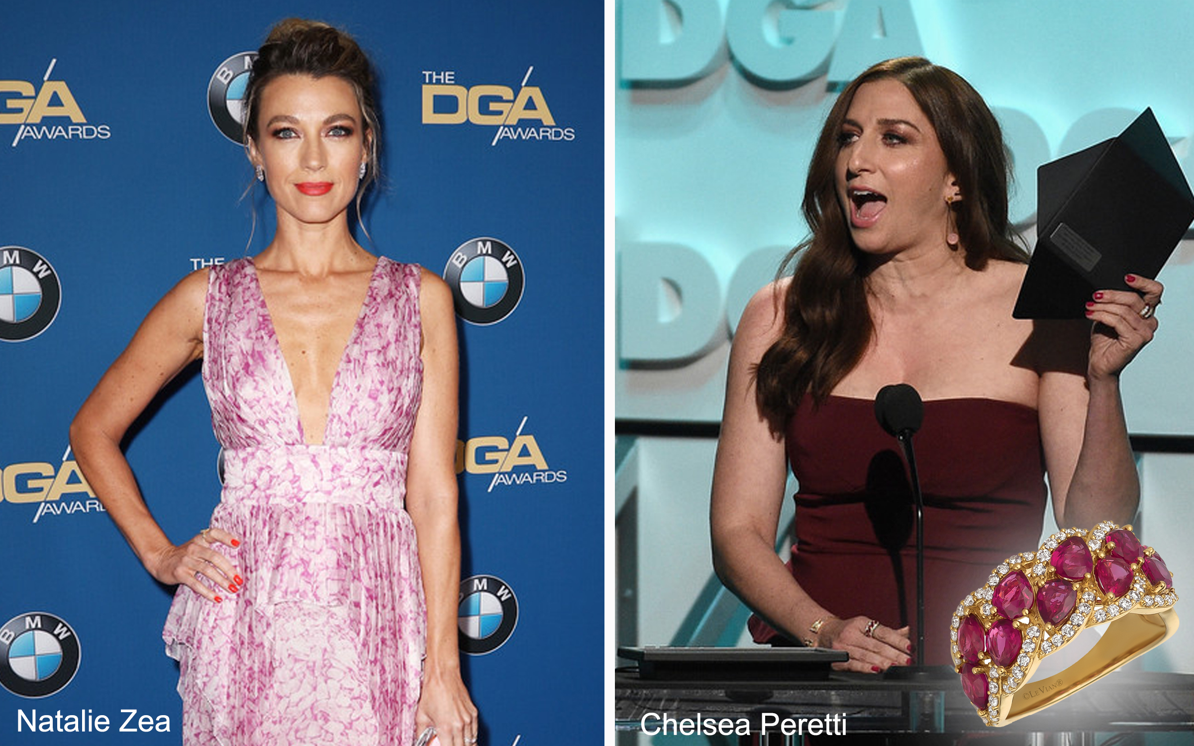 Celebs Wearing Le Vian at the DGA Awards in Beverly Hills