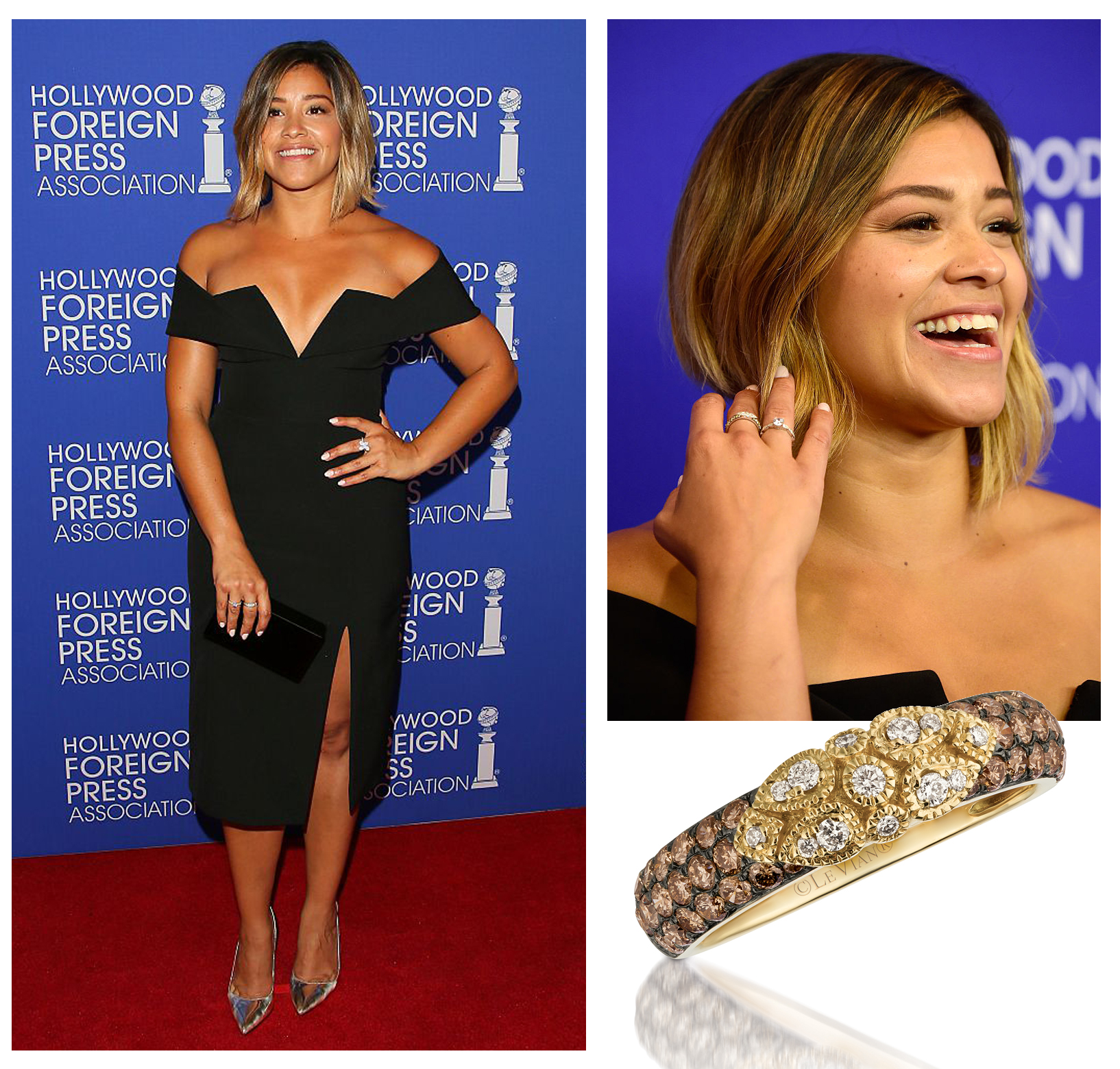 Stars Dazzle in Le Vian® at The Hollywood Foreign Press Association (HFPA) Annual Grants Banquet