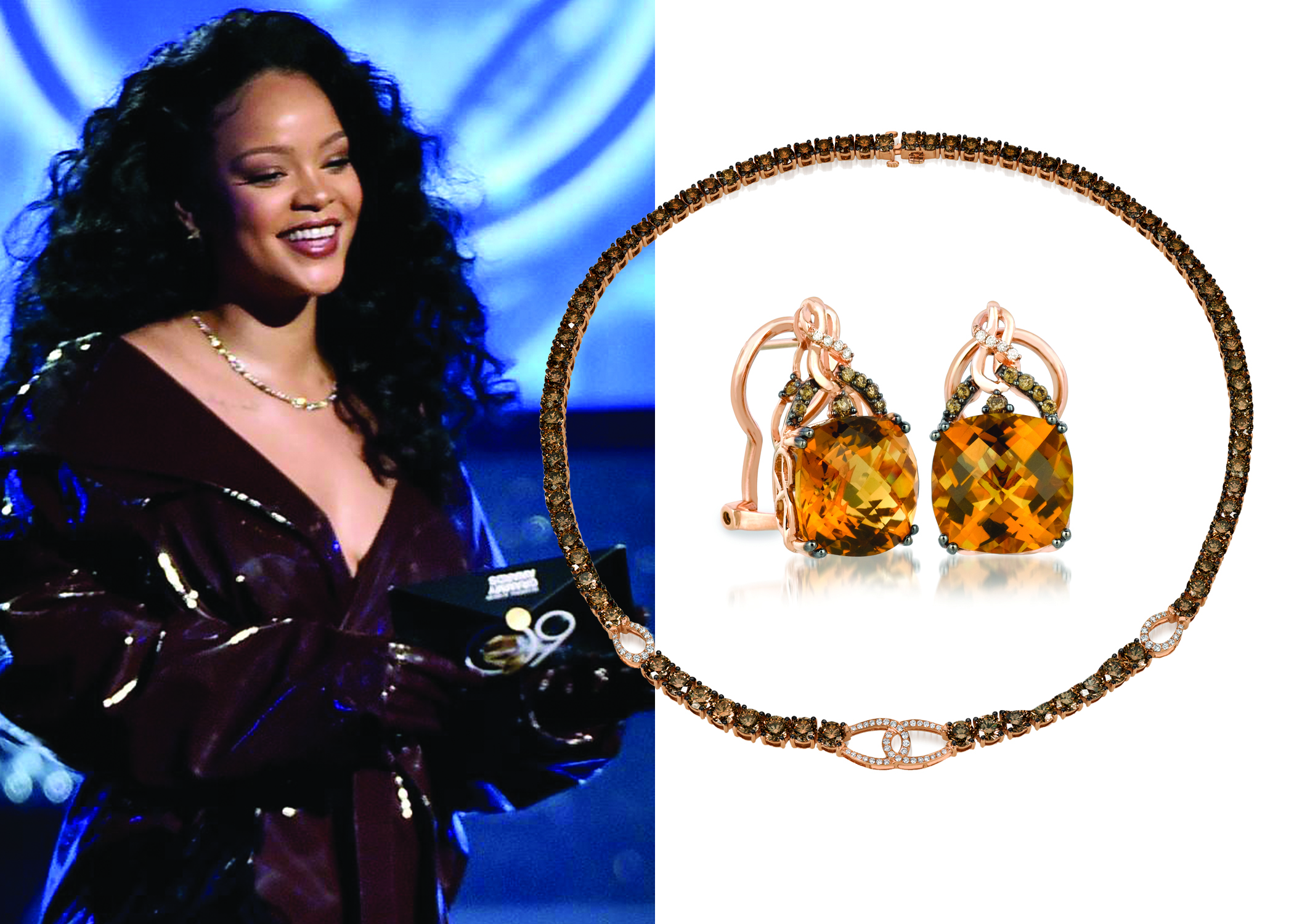 Le Vian® Rocked with Grammy's Hottest Stars On Stage at the 60th Annual Grammy Awards